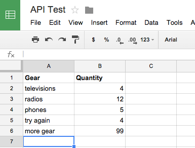 Google Sheets API access with PHP - Karl's Place